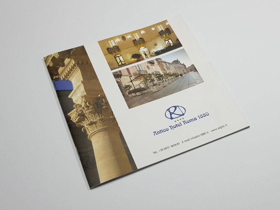brochure albergo