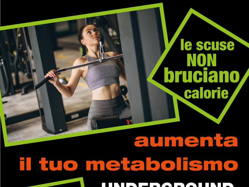 poster metabolic training